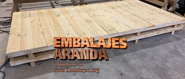 Embalaje madera El Saucejo Sevilla