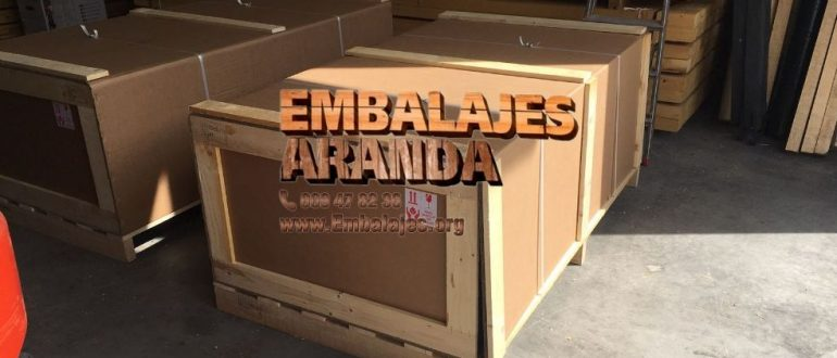 Embalaje madera El Viso del Alcor Sevilla