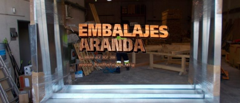 Embalaje madera Es Castell Illes Balears