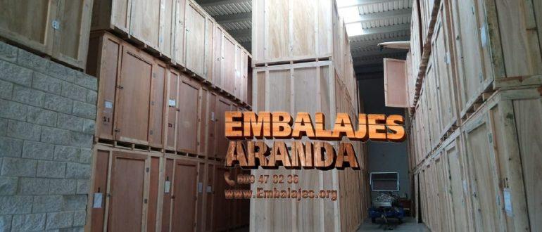 Embalaje madera Esplugues de Llobregat Barcelona
