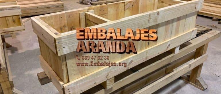 Embalaje madera Estepa Sevilla