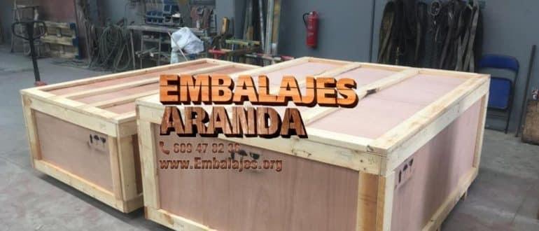 Embalaje madera Fernán-Núñez Córdoba