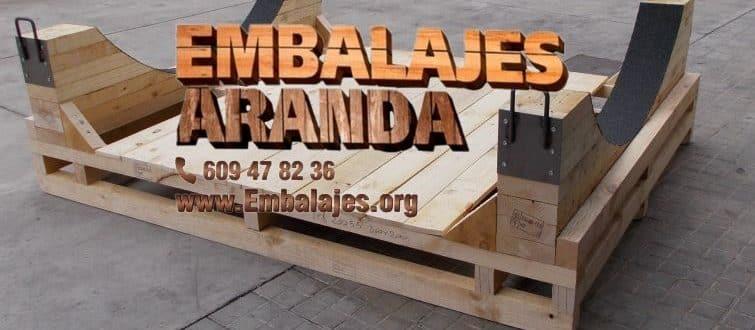 Embalaje madera Finestrat Alicante