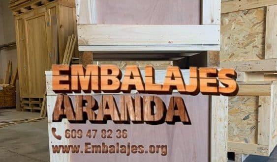 Embalaje madera Formentera del Segura Alicante
