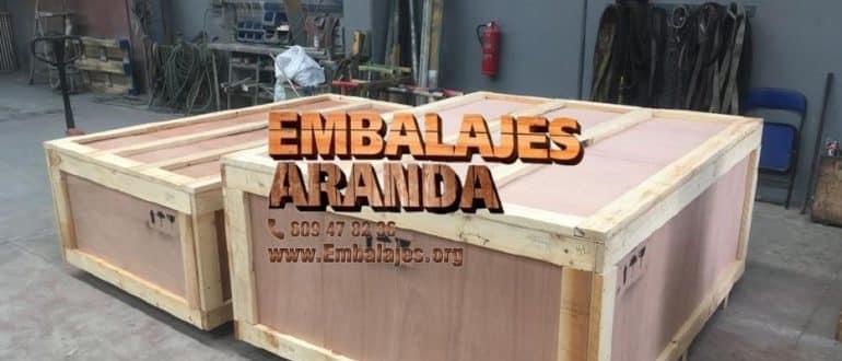 Embalaje madera Fuente Álamo de Murcia Murcia