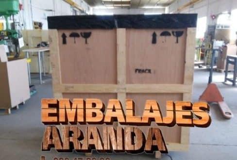 Embalaje madera Fuente Vaqueros Granada