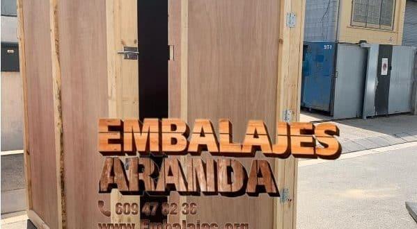 Embalaje madera Fuente el Saz de Jarama Madrid
