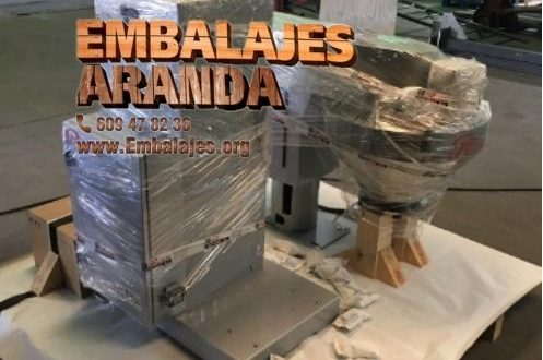 Embalaje madera Fuentes de Andalucía Sevilla