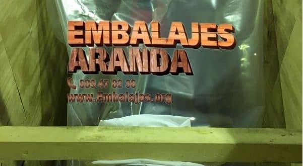 Embalaje madera Galdakao Bizkaia