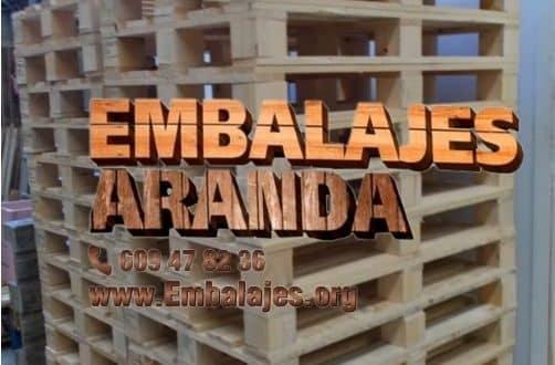 Embalaje madera Garrucha Almería