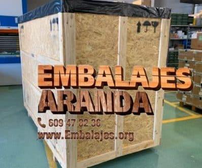 Embalaje madera Gata de Gorgos Alicante