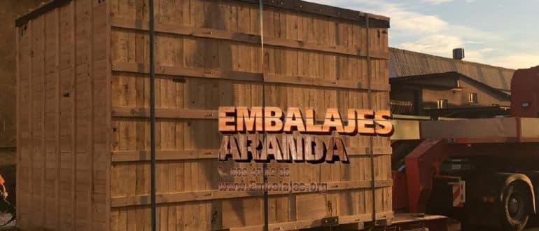 Embalaje madera Gibraleón Huelva
