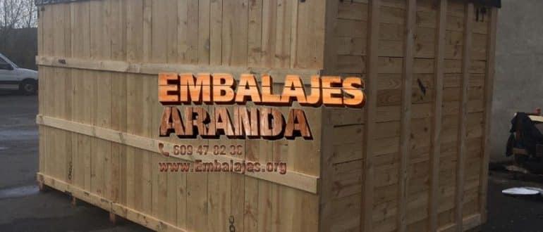 Embalaje madera Gines Sevilla