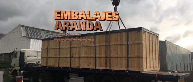 Embalaje madera Godella València