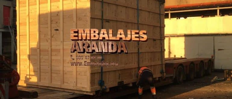 Embalaje madera Gondomar Pontevedra