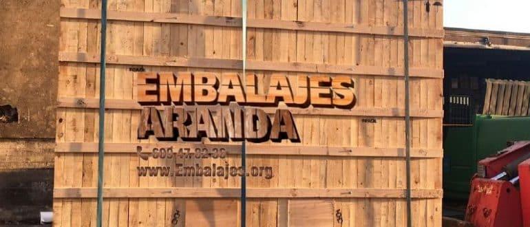 Embalaje madera Granadilla de Abona