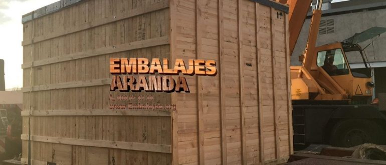 Embalaje madera Granollers Barcelona
