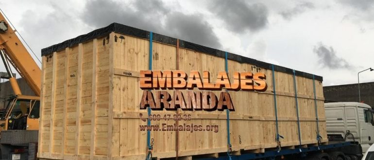 Embalaje madera Guadarrama Madrid