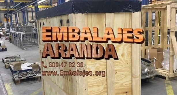 Embalaje madera Guardamar del Segura Alicante