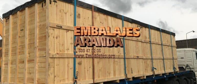 Embalaje madera Güeñes Bizkaia