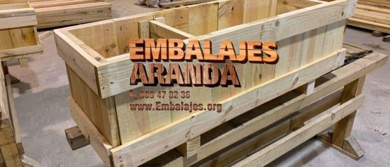 Embalaje madera Guía de Isora
