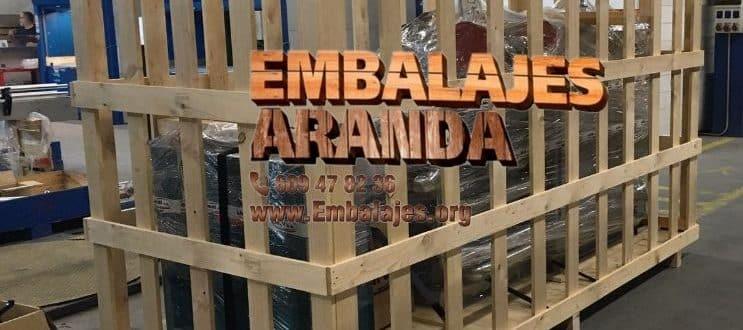 Embalaje madera Guijuelo Salamanca