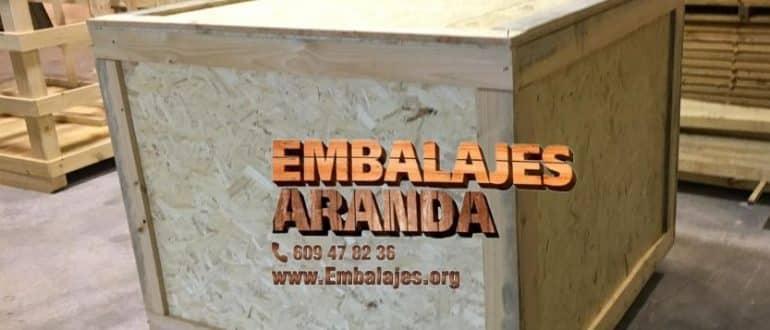 Embalaje madera Herencia Ciudad Real