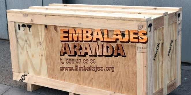 Embalaje madera Herrera Sevilla