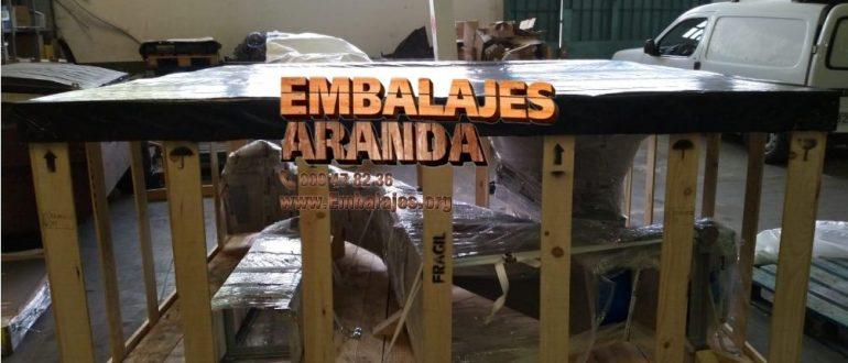 Embalaje madera Hinojos Huelva
