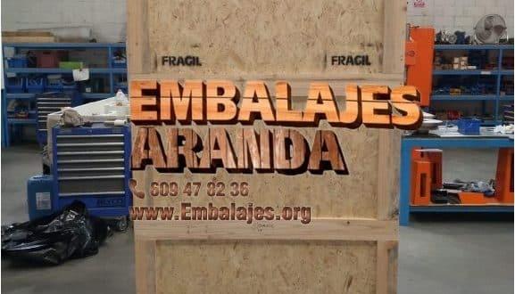 Embalaje madera Hinojosa del Duque Córdoba