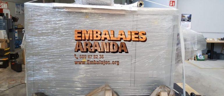 Embalaje madera Hornachuelos Córdoba