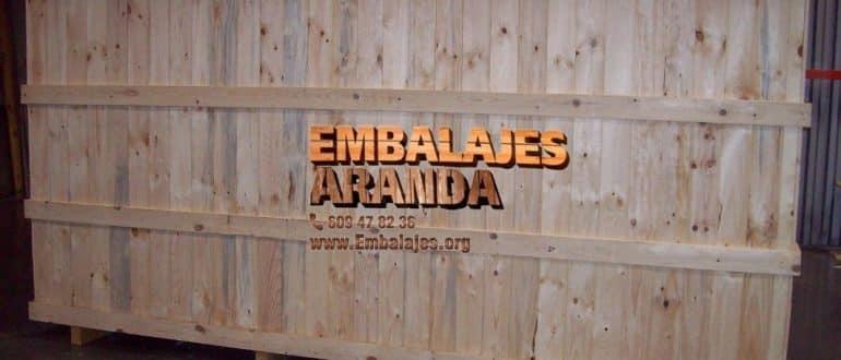 Embalaje madera Hoyo de Manzanares Madrid