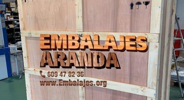 Embalaje madera Huércal-Overa Almería