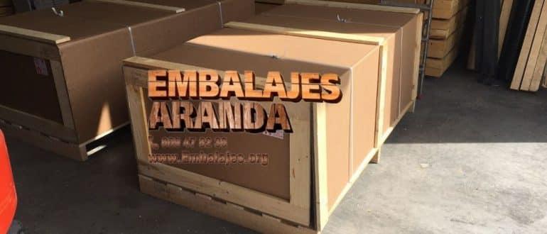 Embalaje madera Huéscar Granada