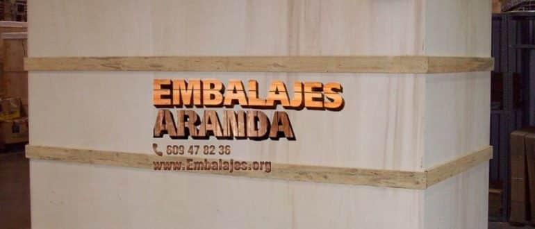 Embalaje madera Huétor-Tájar Granada