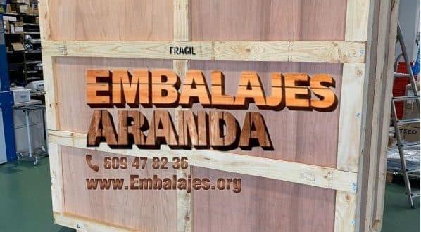 Embalaje madera Huétor Vega Granada