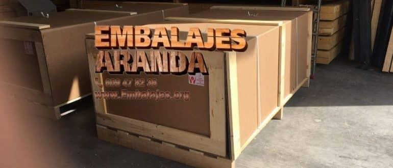 Embalaje madera Ibiza Islas Baleares