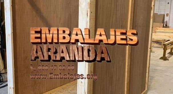 Embalaje madera Igualada Barcelona