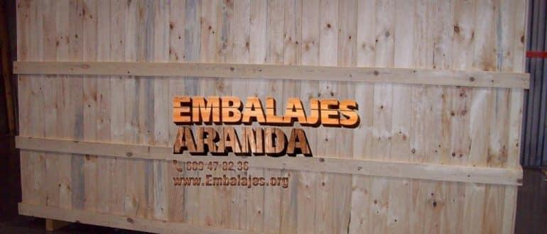 Embalaje madera Inca Islas Baleares