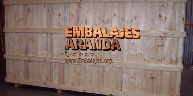 Embalaje madera Ingenio Las Palmas