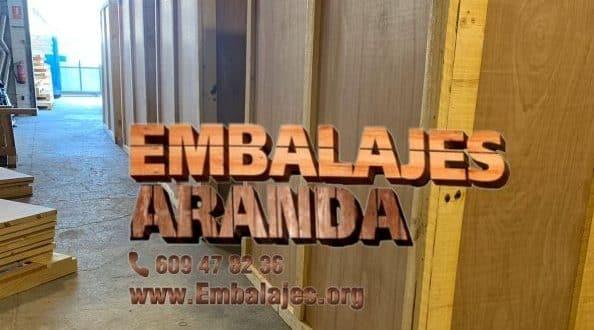 Embalaje madera Isla Cristina Huelva
