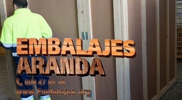Embalaje madera Isla Mayor Sevilla