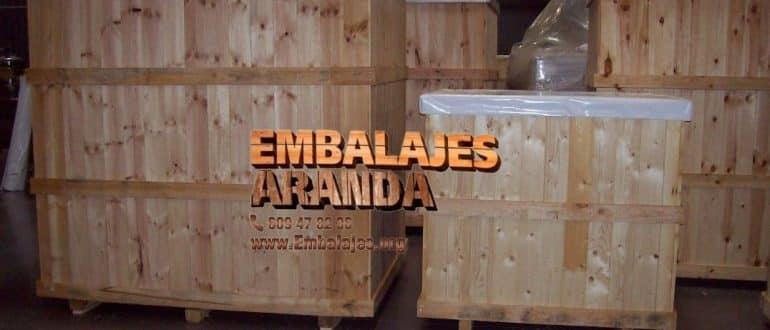 Embalaje madera Iurreta Bizkaia