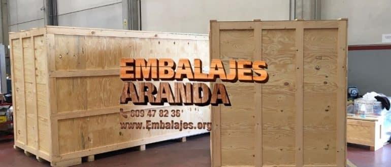 Embalaje madera Iznájar Córdoba