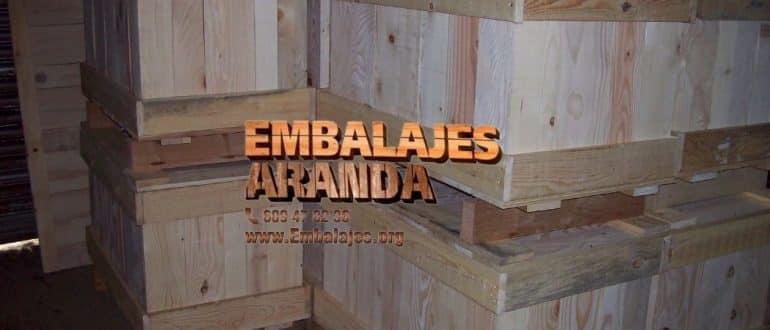 Embalaje madera Iznalloz Granada