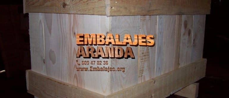 Embalaje madera Jaca Huesca