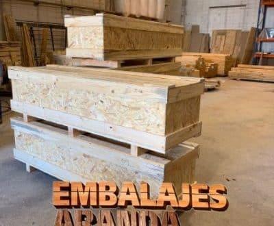 Embalaje madera Jaraíz de la Vera Cáceres