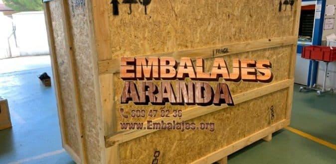 Embalaje madera Jerez de los Caballeros Badajoz
