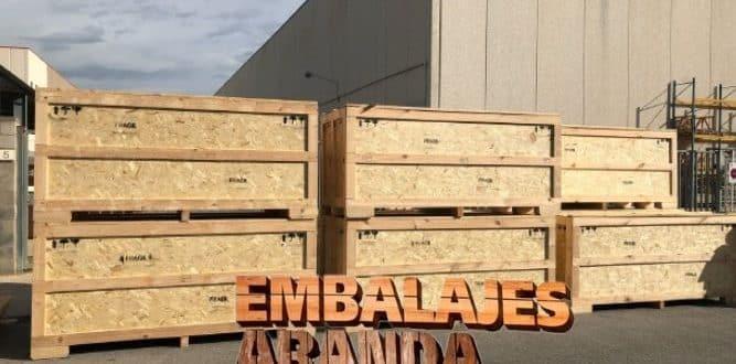 Embalaje madera Jimena de la Frontera Cádiz