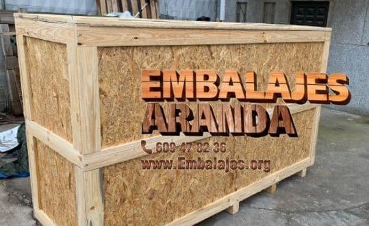 Embalaje madera Jódar Jaén